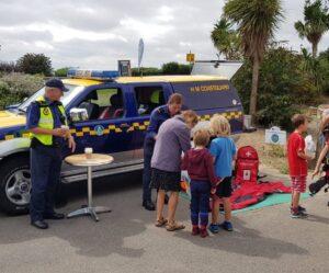 Southend Coastguard - Beach Safety @ Saltwater Beach Cafe