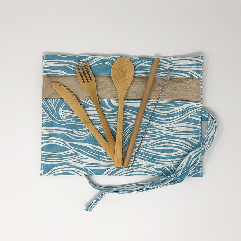 bamboo cutlery travel set