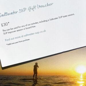 Saltwater SUP gift voucher